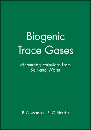Biogenic Trace Gases: Measuring Emissions from Soil and Water