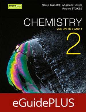Chemistry 2 VCE Units 3 and 4 eGuidePLUS (Online Purchase)