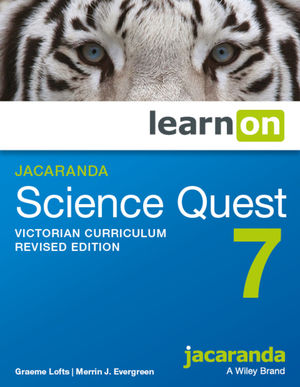 Jacaranda Science Quest 7 Victorian Curriculum LearnOn (Online Purchase)