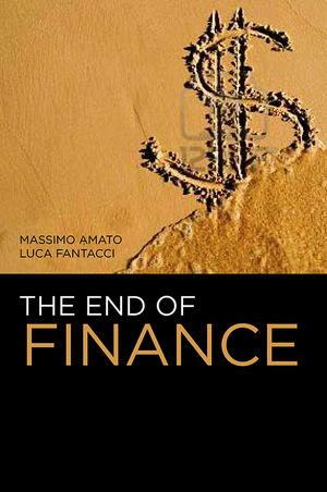 The End of Finance (0745651119) cover image