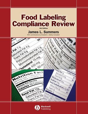 Food Labeling Compliance Review, 4th Edition (0813821819) cover image