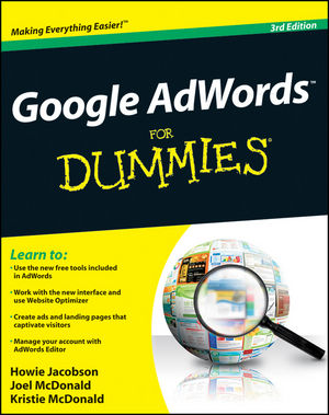 Google AdWords For Dummies, 3rd Edition (1118115619) cover image