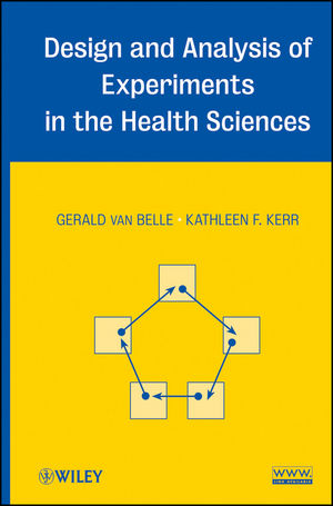 Design and Analysis of Experiments in the Health Sciences (1118279719) cover image