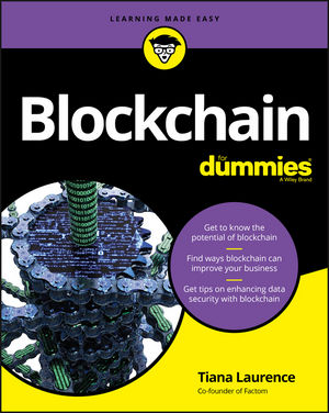 Blockchain For Dummies (1119365619) cover image