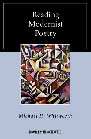 Reading Modernist Poetry (1405167319) cover image