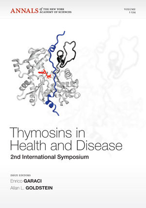 Thymosins in Health and Disease: Second International Symposium, Volume 1194