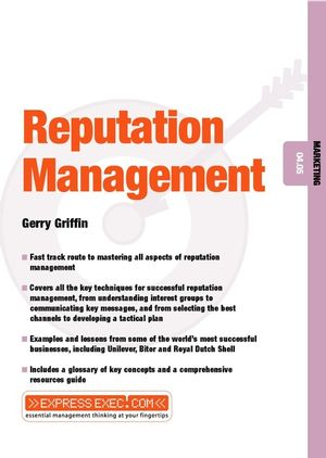 Reputation Management: Marketing 04.05