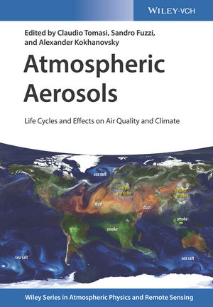 Atmospheric Aerosols: Life Cycles and Effects on Air Quality and Climate (3527336419) cover image
