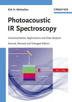 Photoacoustic IR Spectroscopy: Instrumentation, Applications and Data Analysis, 2nd, Revised and Enlarged Edition (3527633219) cover image