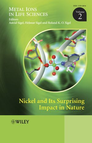 Nickel and Its Surprising Impact in Nature: Metal Ions in Life Sciences, Volume 2 (047001671X) cover image