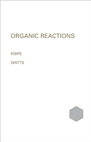 Organic Reaction Mechanisms 1999: An annual survey covering the literature dated December 1998 to November 1999 (047009401X) cover image