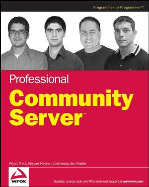 Professional Community Server (047014971X) cover image