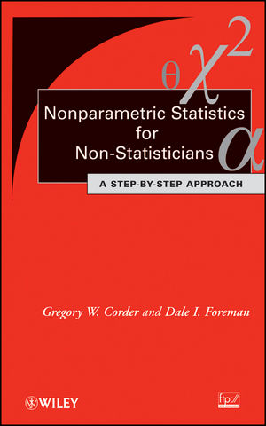 Nonparametric Statistics for Non-Statisticians: A Step-by-Step Approach (047045461X) cover image