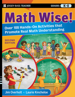 Math Wise! Over 100 Hands-On Activities that Promote Real Math Understanding, Grades K-8 (047058341X) cover image