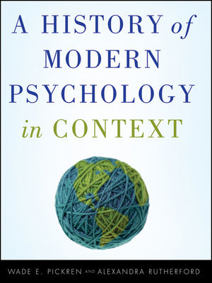 A History of Modern Psychology in Context  (047058601X) cover image