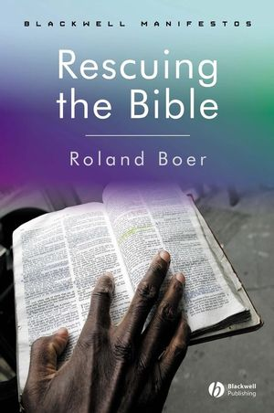Rescuing the Bible (047076581X) cover image