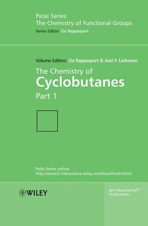 The Chemistry of Cyclobutanes, 2 Volume Set (047086401X) cover image