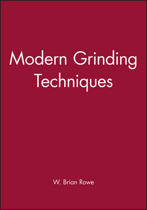Modern Grinding Techniques