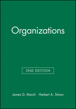 Organizations, 2nd Edition (063118631X) cover image
