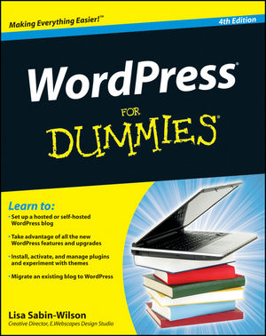 WordPress For Dummies, 4th Edition (111816721X) cover image