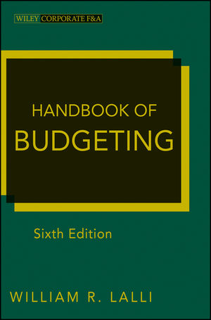Handbook of Budgeting, 6th Edition (111817061X) cover image