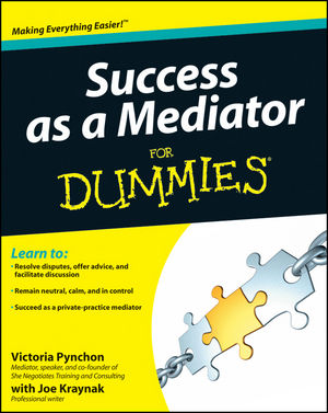 Success as a Mediator For Dummies (111820641X) cover image