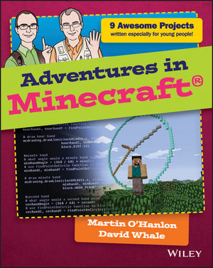 Book Cover Image for Adventures in Minecraft