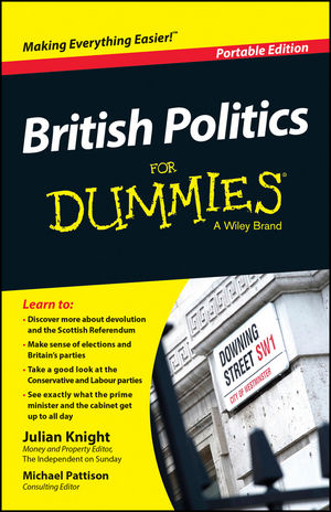 British Politics For Dummies, Portable Edition