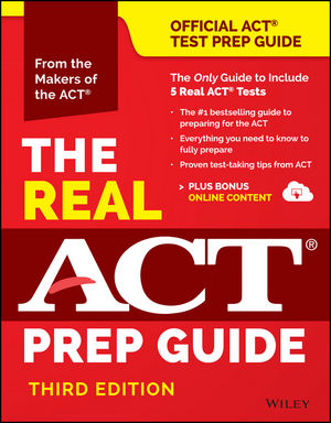 Book Cover Image for The Real ACT Prep Guide (Book + Bonus Online Content), (Reprint), 3rd Edition