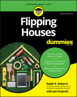 Flipping Houses For Dummies, 3rd Edition (111936311X) cover image