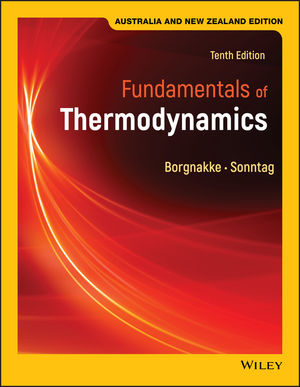Fundamentals of Thermodynamics, 10th Australian New Zealand Edition (Black and White)