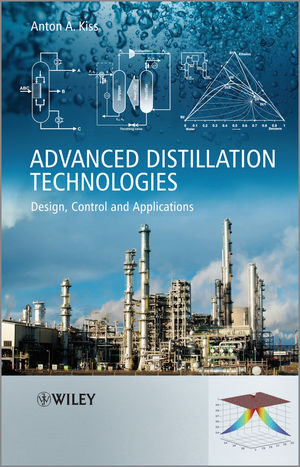 Advanced Distillation Technologies: Design, Control and Applications (111999361X) cover image