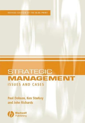 Strategic Management: Issues and Cases, 2nd Edition (140511181X) cover image