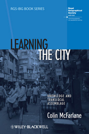 Learning the City: Knowledge and Translocal Assemblage (140519281X) cover image