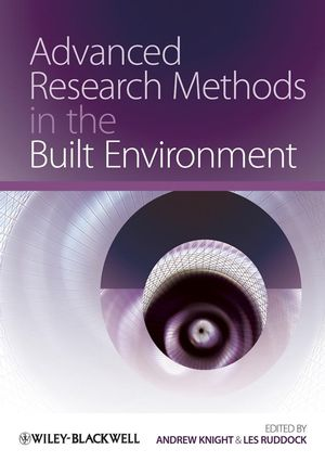Advanced Research Methods in the Built Environment (144430951X) cover image