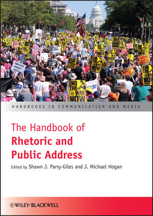 The Handbook of Rhetoric and Public Address (144432411X) cover image