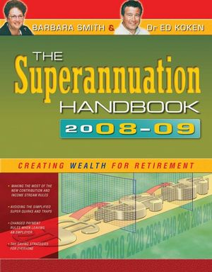 The Superannuation Handbook 2008-09 (174216921X) cover image