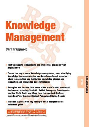 Knowledge Management: Organizations 07.05