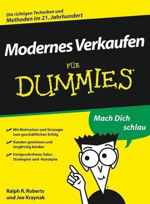 Modernes Verkaufen für Dummies (352764251X) cover image