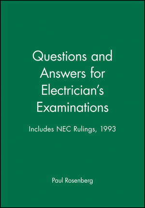 Questions and Answers for Electrician's Examinations: Includes NEC Rulings, 1993