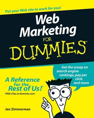 Web Marketing For Dummies, 3rd Edition (0470049820) cover image