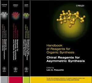 Handbook of Reagents for Organic Synthesis, Handbook of Organic Reagents, Set II, 4 Volume Set