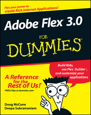 Adobe Flex 3.0 For Dummies (0470277920) cover image