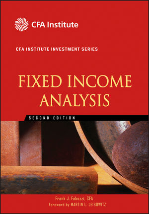 Fixed Income Analysis, 2nd Edition (0470635320) cover image