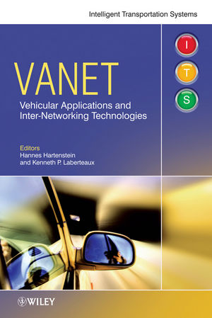 VANET: Vehicular Applications and Inter-Networking Technologies (0470740620) cover image