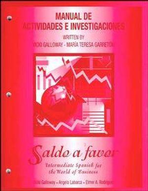 Saldo a favor: Intermediate Spanish for the World of Business, Workbook
