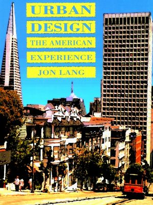Urban Design: The American Experience (0471285420) cover image