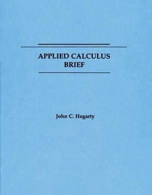 Applied Calculus: Brief