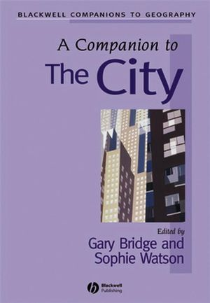 A Companion to the City (0631210520) cover image