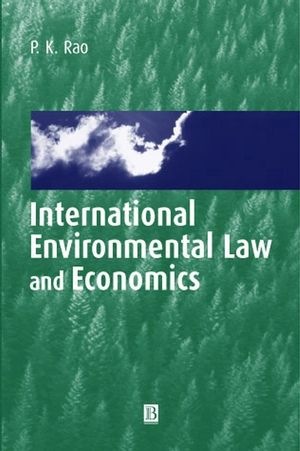 International Environmental Law and Economics (0631218920) cover image